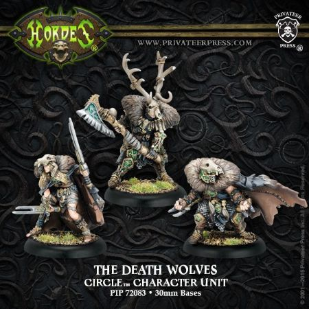 Circle Orboros Death Wolves